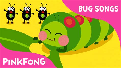hungry caterpillars bug songs pinkfong songs 847 | maxresdefault