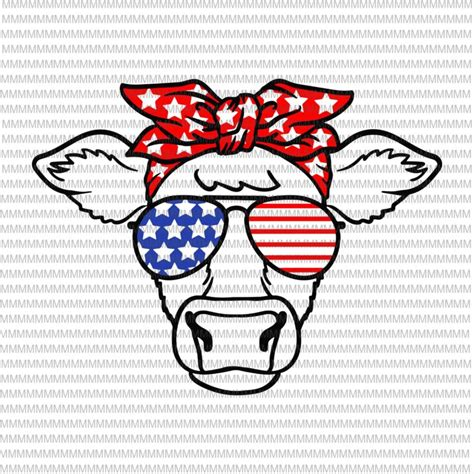 What do we do for the fourth of july? 4th of July svg, cow svg, Independence Day svg, American ...