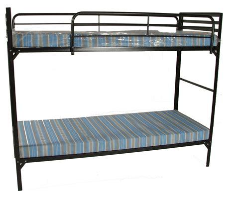 bunk bed mattresses at big blantex c style institutional bunk beds w mattress