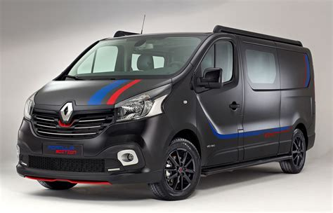 renault f1 van renault trafic gets sporty quot formula edition quot in the