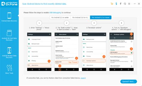 dr fone android wondershare dr fone best android data recovery software
