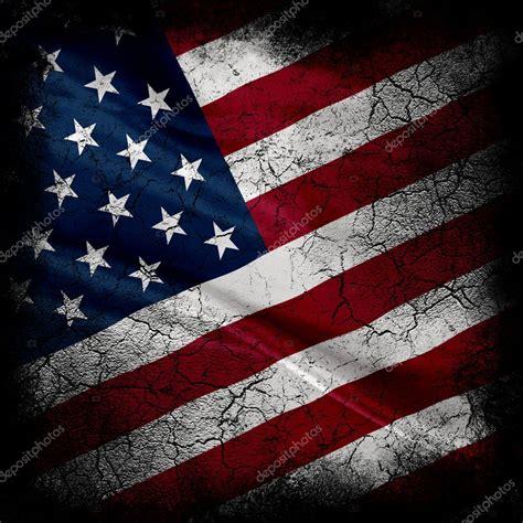 grunge united states  america flag stock photo