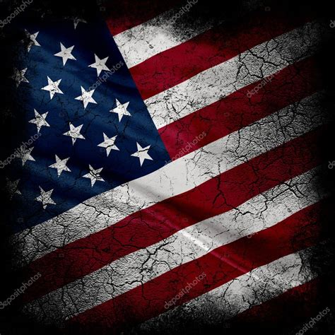 bandeira dos estados unidos de grunge fotografias de