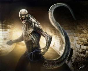 Cool Lizard Concept Art for Sam Raimi's SPIDER-MAN 2 and ...