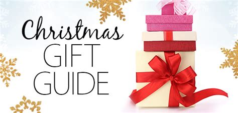 2016 christmas gift guide with creative unique ideas