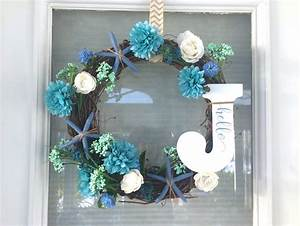 DIY Spring Summer Wreath With Starfish Riss Home