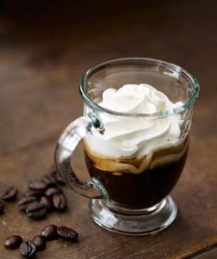 espresso  panna starbucks coffee company