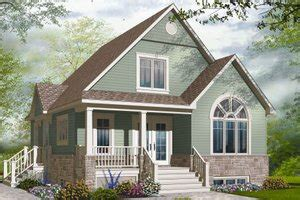 Cottage Style House Plan 3 Beds 2 Baths 1343 Sq/Ft Plan