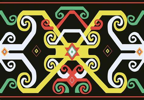 indah motif batik dayak  tentang inspirasi model batik