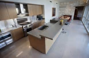 Polished Concrete Floors with Kitchen