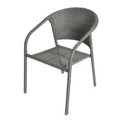 garden treasures pelham bay stackable patio dining chair