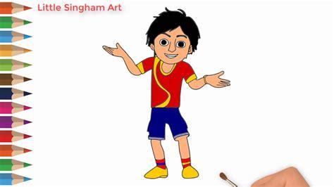 Nick Shiva Cartoon Character Drawing-how To Draw Nick