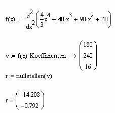 Nullstelle Berechnen Online : nullstelle berechnen mit mathcad wissenstransfer anlagen und maschinenbau ptc mathcad ~ Themetempest.com Abrechnung
