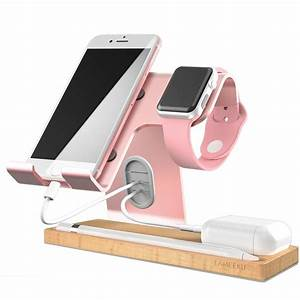 Cell Phone Stand LAMEEKU Apple Watch Charger Stand Dock Cradle Holder For Switch IWatch All