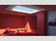 CoeLux's fake skylight realistically mimics the summer sun