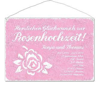 geschenke zur rosenhochzeit  jahre