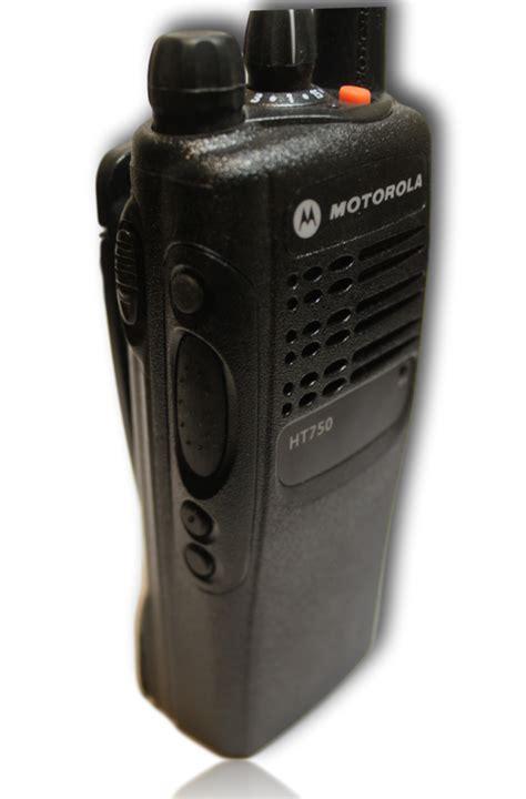 Motorola HT750   Low Band (35-50MHz) Portable Radio (16ch ...