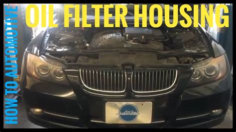How Replace The Oil Filter Housing Gasket