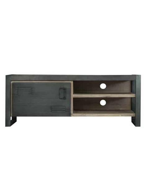 tv meubel hout en ijzer industrieel tv meubel gemaakt van acacia hout en ijzer