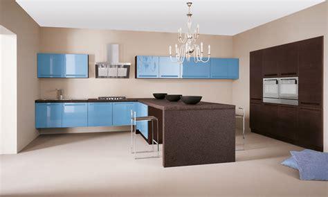 porcelanosa cuisine une touche de bleu dans la cuisine inspiration cuisine