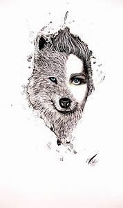 half #human, half #wolf | Fashion illustration | Pinterest ...