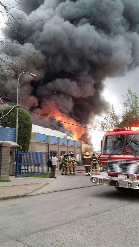 Controlaron El Incendio Que Consumió La Fábrica De Trendy
