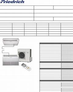 Friedrich Air Conditioner Mr24uy3f User Guide