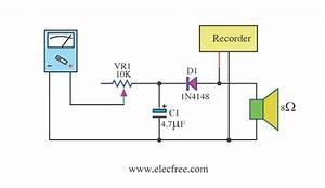 Simple Vu Meter Form Multi Meter Circuit Diagram World