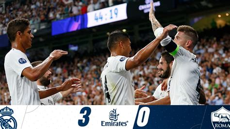 Download Video: Real Madrid vs As Roma 3-0 UEFA Champions ...