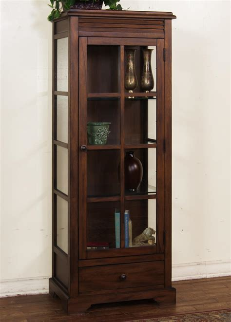 Birch Curio Cabinet By Sunny Designs Wolf And Gardiner