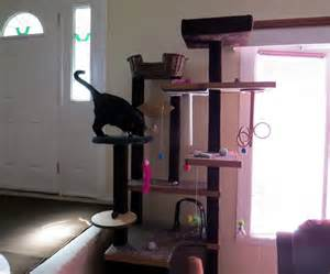 diy cat condo diy cat tower yes we happy cats and you can