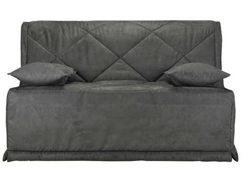 housse de canapé bz conforama housse pour bz 140 cm julie coloris gris vente de housse