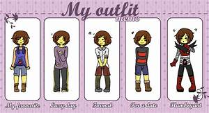 My outfit meme - Frisk by Kaitogirl on DeviantArt