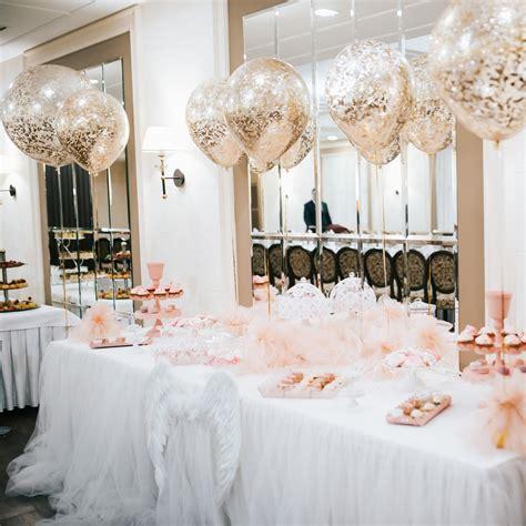 wedding reception dessert table 18 quot confetti balloon