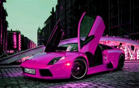 Hot Pink Lamborghini