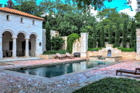 mediterranean house plans with pool 25 beautiful mediterranean pool designs
