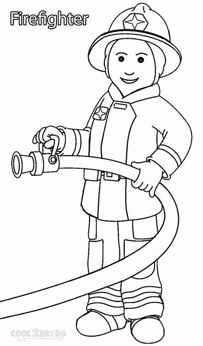 Community Helper Coloring Pages Printable