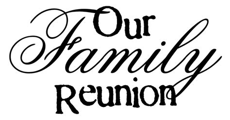 words imagined  family reunion