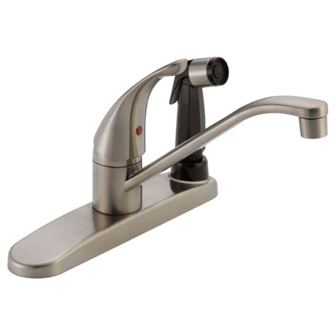 plf ss single handle kitchen faucet