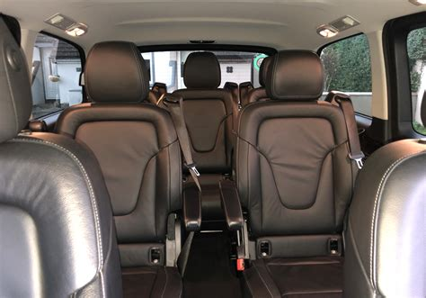 The factory now produces the new sprinter and the vario. Interior of Mercedes-Benz V Class - John Walsh Chauffeur