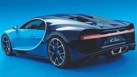 Bugatti 2017 Price by 2017 Bugatti Chiron Revealed Car News Carsguide