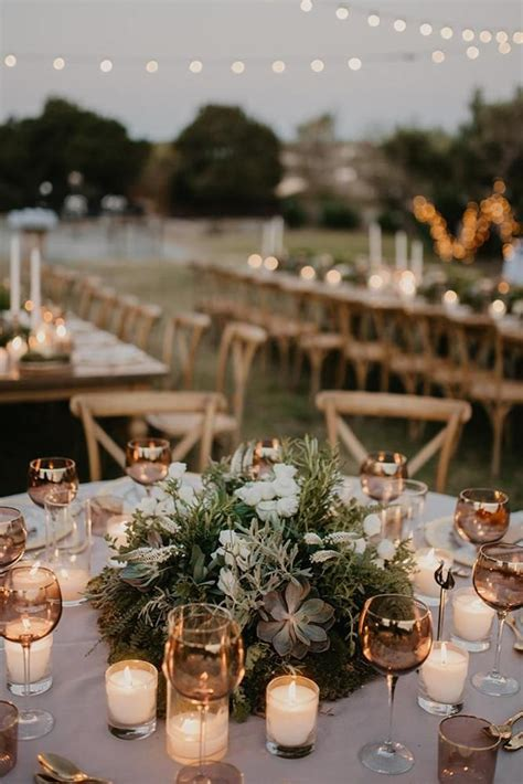 how to decorate wedding reception tables for cheap 33 vintage wedding table decoration ideas to love