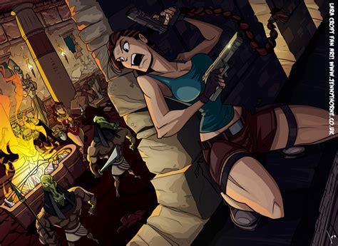 Tombraider Fanart By Jennyisdrawing On Deviantart
