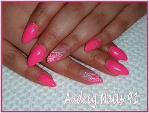 Ongles En Gel Rose : nail art institut de beaut audrey nails 91 ~ Melissatoandfro.com Idées de Décoration