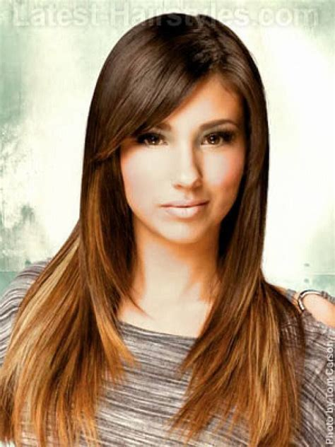 bang hairstyles for long hair best 25 oval face bangs ideas on pinterest bangs for