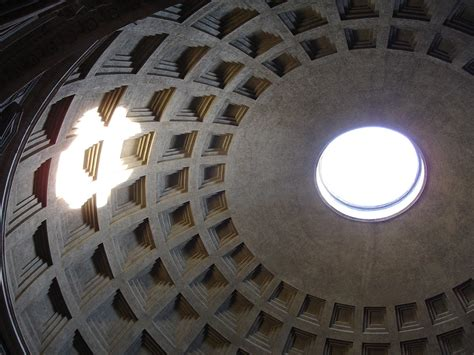 cupola pantheon list of largest domes