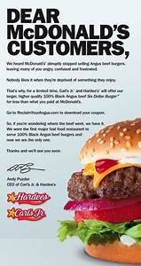 'McBurned' Ad Campaign By Carl's Jr., Hardee's Targets ...