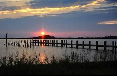 Sunset Baltimore Md Smith Chesapeake Bay Island