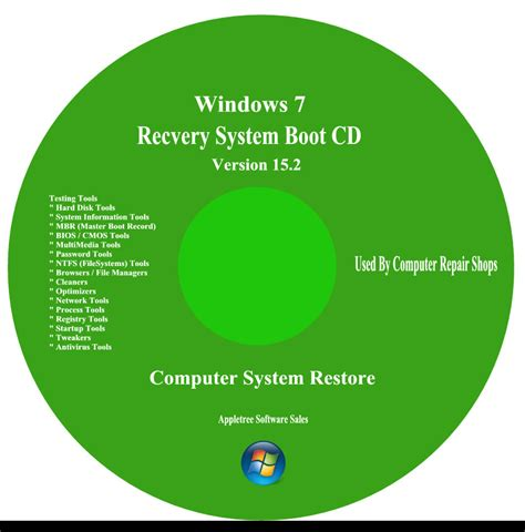 Acer Computer Repair / Recovery Boot Cd For Window 7 & Xp