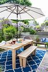 DIY Outdoor Dining Tables | The Garden Glove diy outdoor patio table